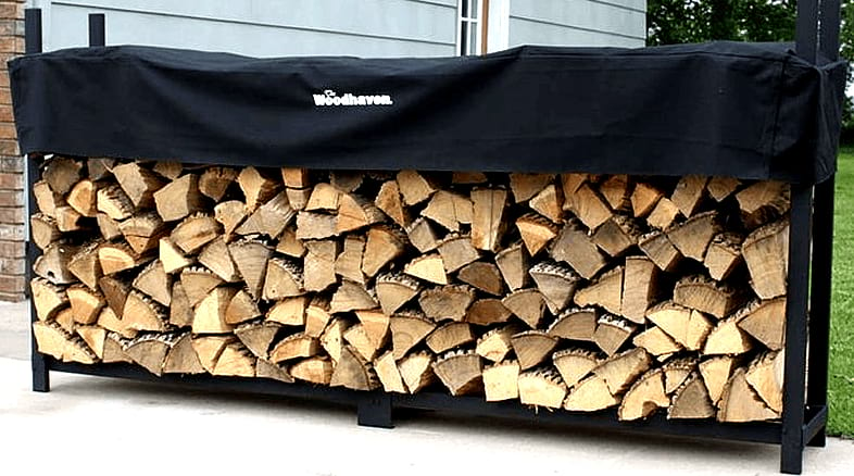 Outdoor Fire Wood Storage
